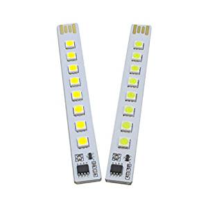 GUWANJI 1 unids USB Keyboard Light touch switch for LED Strip Light Lamp Lights 8 grains of prominent Nightlight Mobile Energy