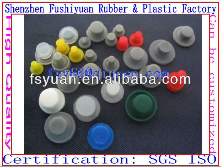 silicone button keypad with carbon ink/carbon pills keypad distance controlled robot Conductive small single buttons