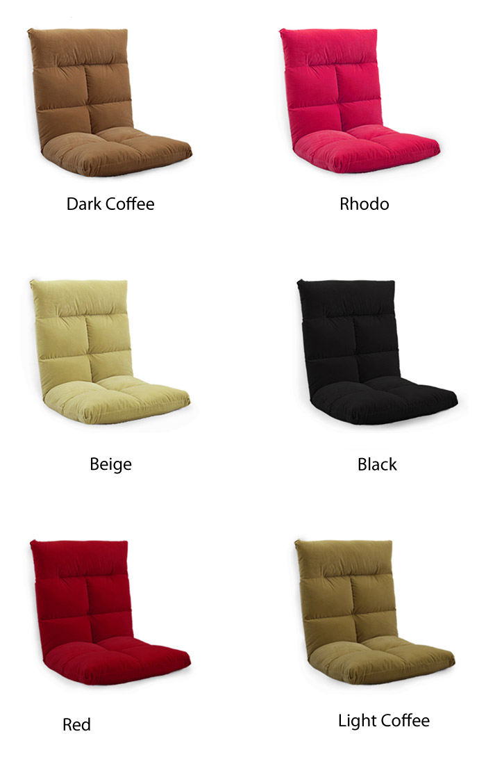 Factory direct selling floor low backrest legless sofa chair