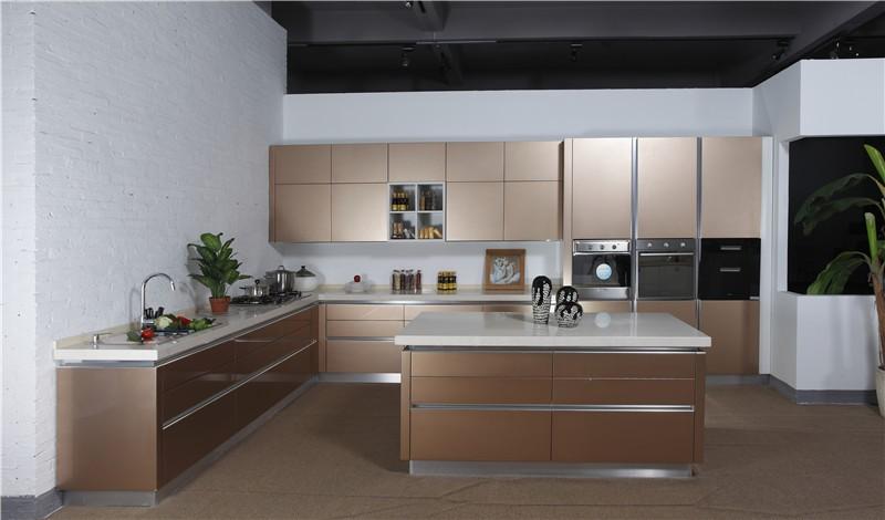 2019 Buen Precio Modular Modernas De Cocina De Melamina Gabinetes De  Muebles - Buy Muebles De Cocina,Armarios De Cocina De Melamina,Gabinetes De  ...