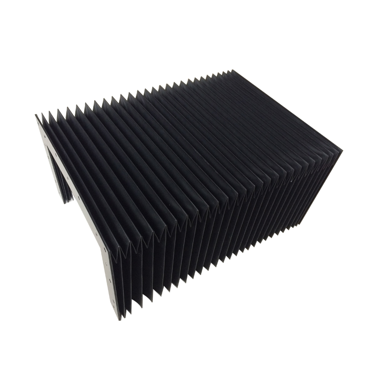 cnc plastic accordion protective bellow cover armor shield