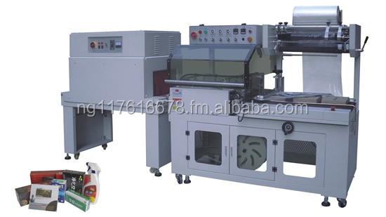 BTA-450+BM-500 Automatic hot shrink wrapping & packing machine