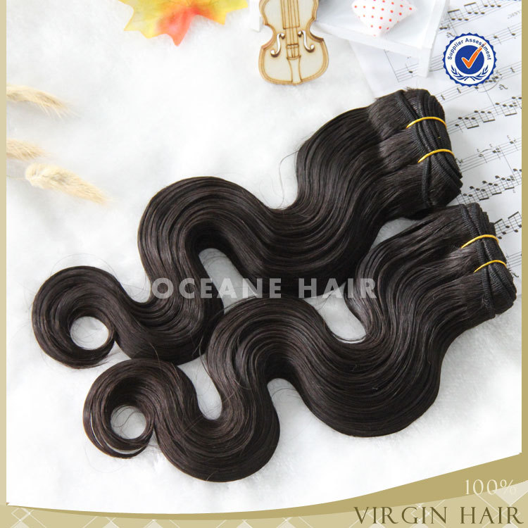 First quality double weft brazilian human hair sew in weave wet and wavy weave,weave 100% brazilian human hair