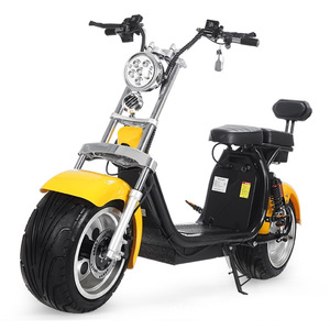 2 12 inch Aluminum alloy wheel electric standing scooter with removable battery