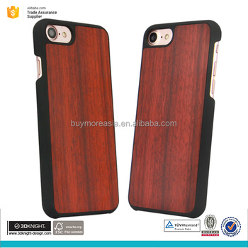Real wood phone cover case for iphone mobile phone cover
