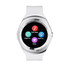 New style android circle sport smart watch support bluetooth Y1 smart watch