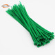 Export To Europe Cable Zip 2.5*100mm Nylon 66 Plastic Reusable Wire Cable Ties Strap