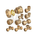 threaded copper screw fittings water tap hose reducer joint for faucet reduce pipe fitting copper eccentric reducer types socket