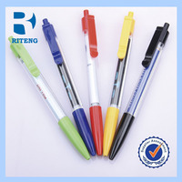 free sample promotional banner pen/cheap price ball pens