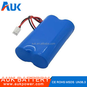 Parallel Assembled Lithium ion 18650 Battery Pack 1S2P 3.7V 4000mah Accept OEM