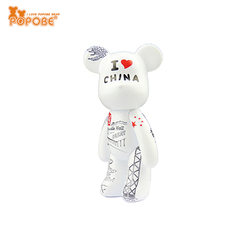 POPOBE pvc toy bear Christmas items 2014 for Christmas promotion