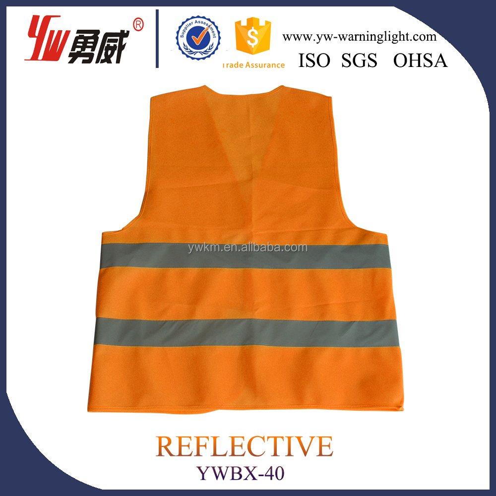 Professional hi vis running vest sport reflective vest sporty&amp safety jogging vest for you--- With Good Service