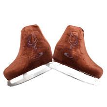 Nasinaya обувь для фигурного катания бархатная Крышка для детей взрослых защитные роликовые коньки аксессуары для катания на коньках блестящи...(Китай)