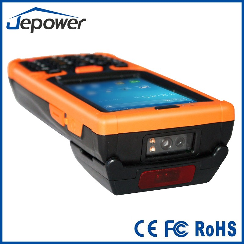 Jepower Handheld Logistic PDA with WiFi/3G/Bluetooth/NFC/Camera/UHF HT380A