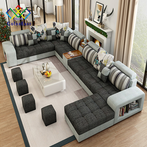 Manufacturer Export Direct Modern Corner Fabric Sofa CEFS002 for Living\Drawing Room