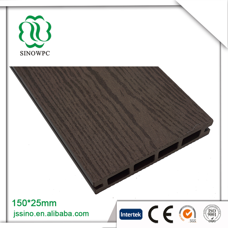 Outdoor portable wood plastic merbau timber decking