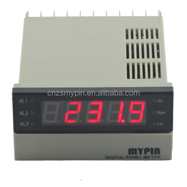 FA series digital frequency meter digital hz frequency meter Hz meter rs-485 modbus