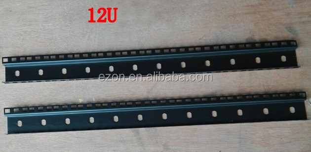 flight case double rack rails/Road case hardware fitting rack strip