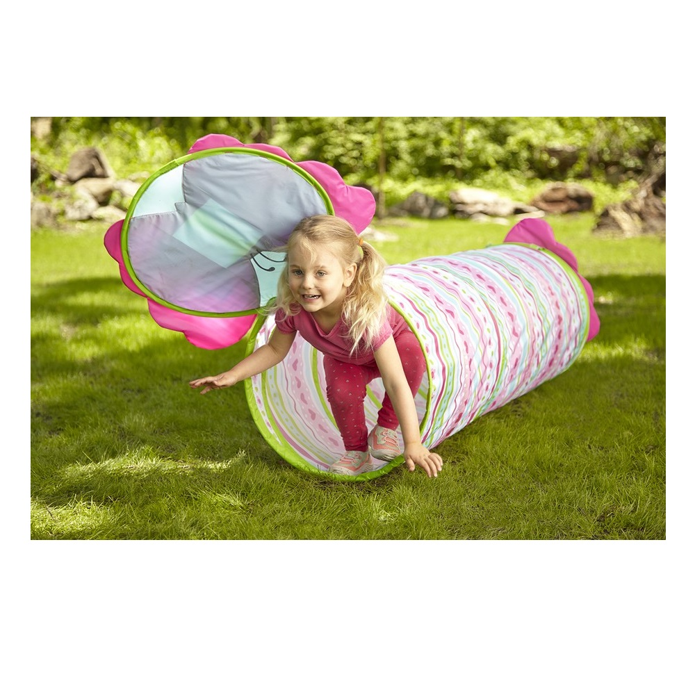 Sunny Patch Cutie Pie Butterfly Perfect indoors Or Outdoor 3 Years And Up Climbing Tunnel Toy
