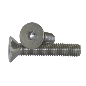 Flat Head Fastener Countersunk Bolts 8.8 M20