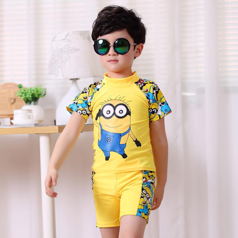 suit minion kid