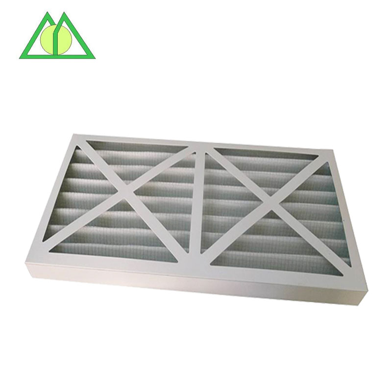 Cardboard frame G4 G3 G2 pleated pre air filter / G3 Pleated air filter for HVAC Furnace Air Filter