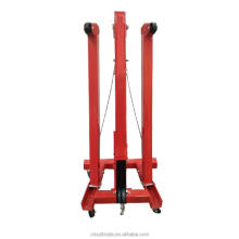 Cheap price portable engine shop auto crane for sale
