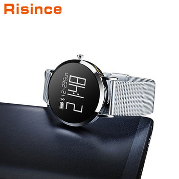 Economical Custom Design Round Smart Watch OLED Touch Screen