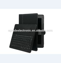 10 inch Universal Android Tablet Removable BT Keyboard Leather Case with Stereo Speaker for Samsung