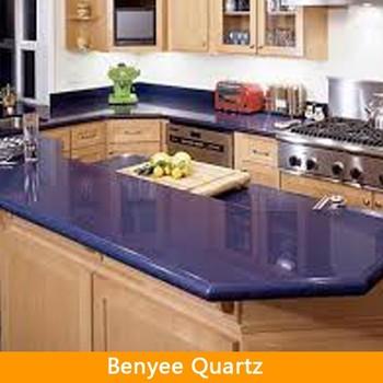 Man Made Stone Blue Quartz Countertops Wholesale