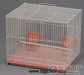 Bird cage PVC with feeding trough