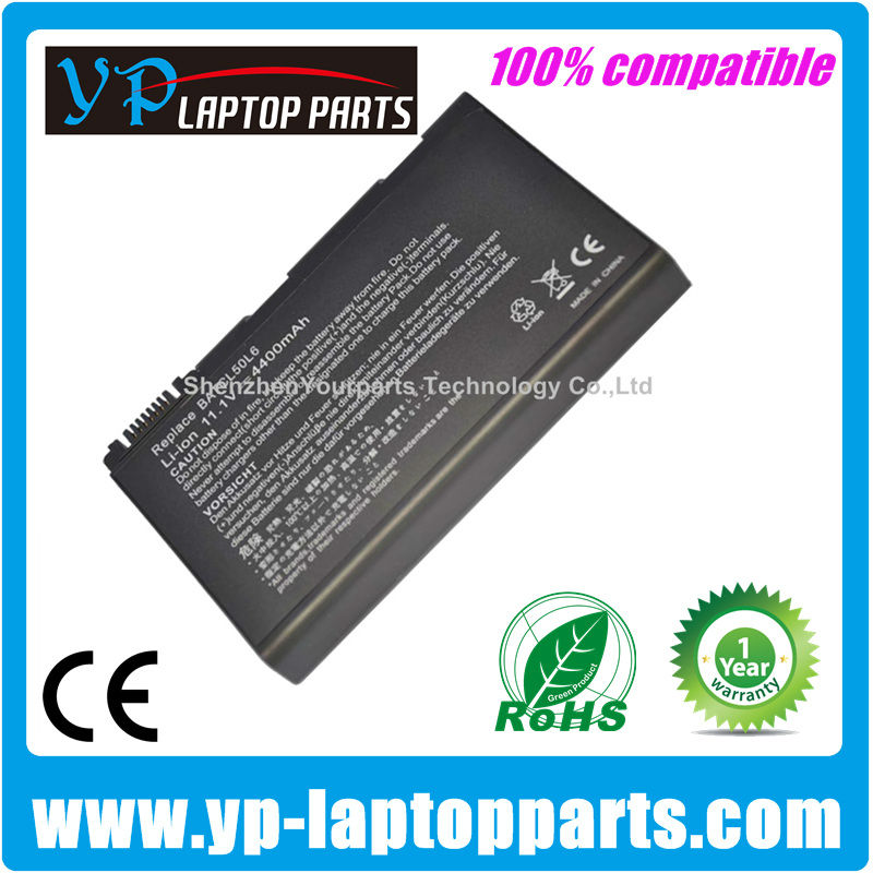 Replacement Laptop Battery For Acer BATCL50L6 Battery BATBL50L4 BATBL50L6 BATBL50L6H Aspire 3100 5100 5680 3690 Laptop battery