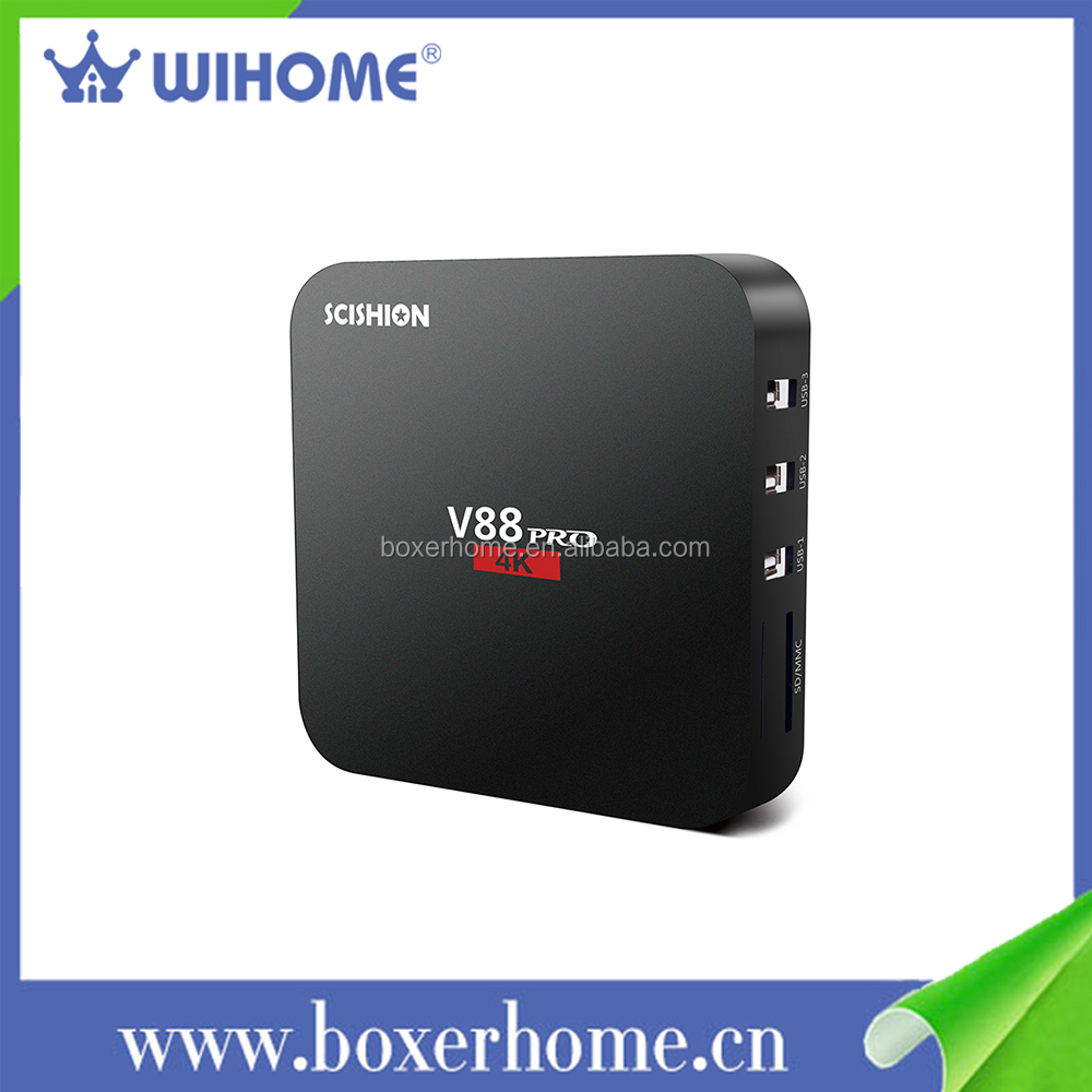 New S905X 1GB + 8GB Pre-installed kodi android 6.0 smart card reader vietnam and worldwide set top box with <strong>usb</strong> <strong>dongle</strong>