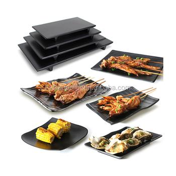 Wholesale customized shape rectangle sushi slate plate Japanese natural black Yakiniku grill BBQ Plate for  sc 1 st  Alibaba & Wholesale Customized Shape Rectangle Sushi Slate PlateJapanese ...