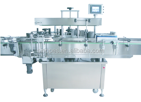 Automatic Square Bottle Labeling Machine, Labeler for Rectangle Bottles
