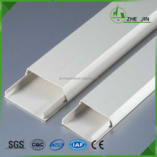 Zhe Jin Durable Plastic Cable Trunking And Accessories Corner Wire Duct