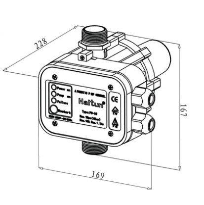Electric Water Pump Press Control Pc 10