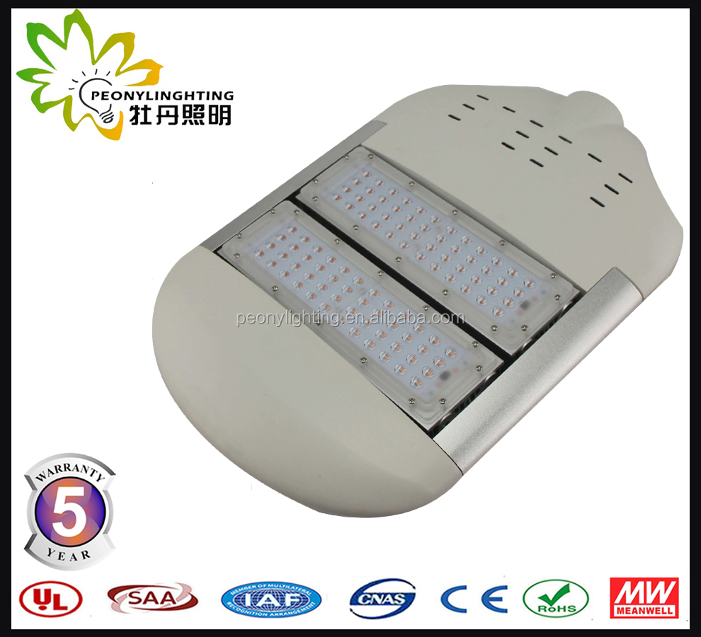 CE RoHS ENEC UL cUL DLC ip65 100w led street light manufactures