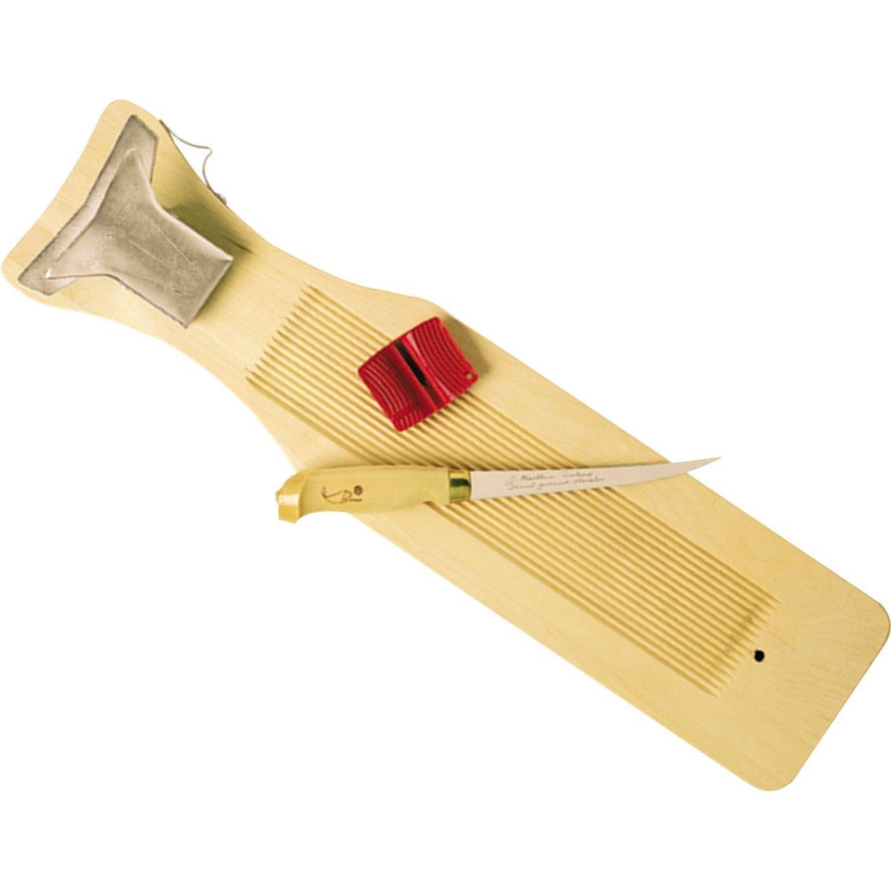 Rapala Fillet Board With 6-Inch Fillet Knife/Single-Stage Sharpener