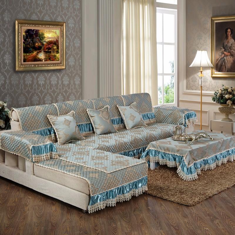 Sofa Slip Covers Custom Polyester Green