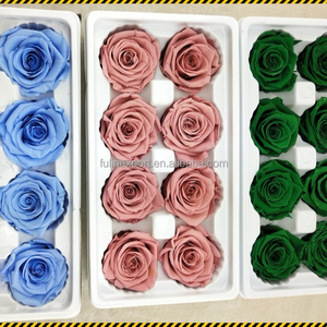 Wholesale Wholesale Grade A Preserved Fresh Roses Flowers From Yunnan 4-5cm