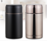 800ml insulated double wall stainless steel lunch box vaccum jar container thermos food pot baby food flask