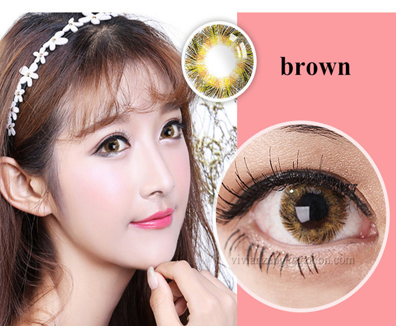 color contact lenses 14.5mm 1 year cosmetic baribie eye contact lens