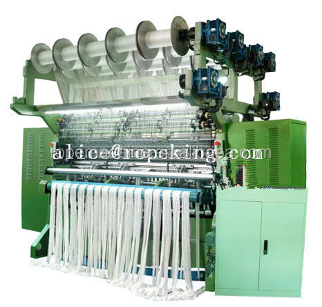needle loom elastic making machine M:0086 15163879588 email:alice@ropeking.com