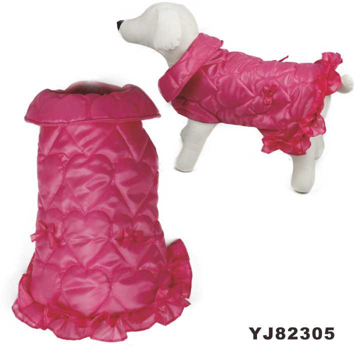 Water Sprinkling Resistant Fabric Waterproof Dog Coat