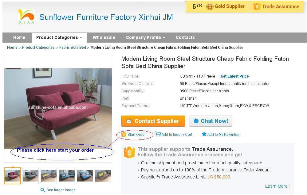 Korean Style Living Room Sofa Bed Floor Futon Sofa Bed Furniture