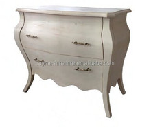 Wooden White louis xv French Country Antique Reproduction Furniture