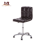 backrest office chair rolling stool swivel chair in living room salon stool chair