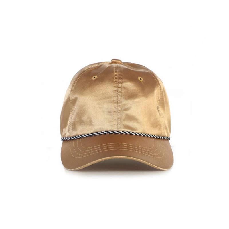 Mens satin oem baseball caps