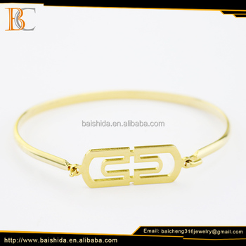 fashion new gold bracelet models dubai imitation men jewelry